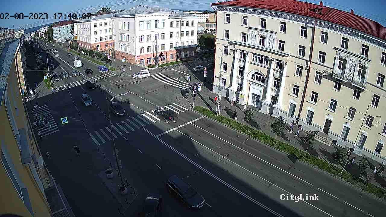 Ленина пр. - Антикайнена ул.