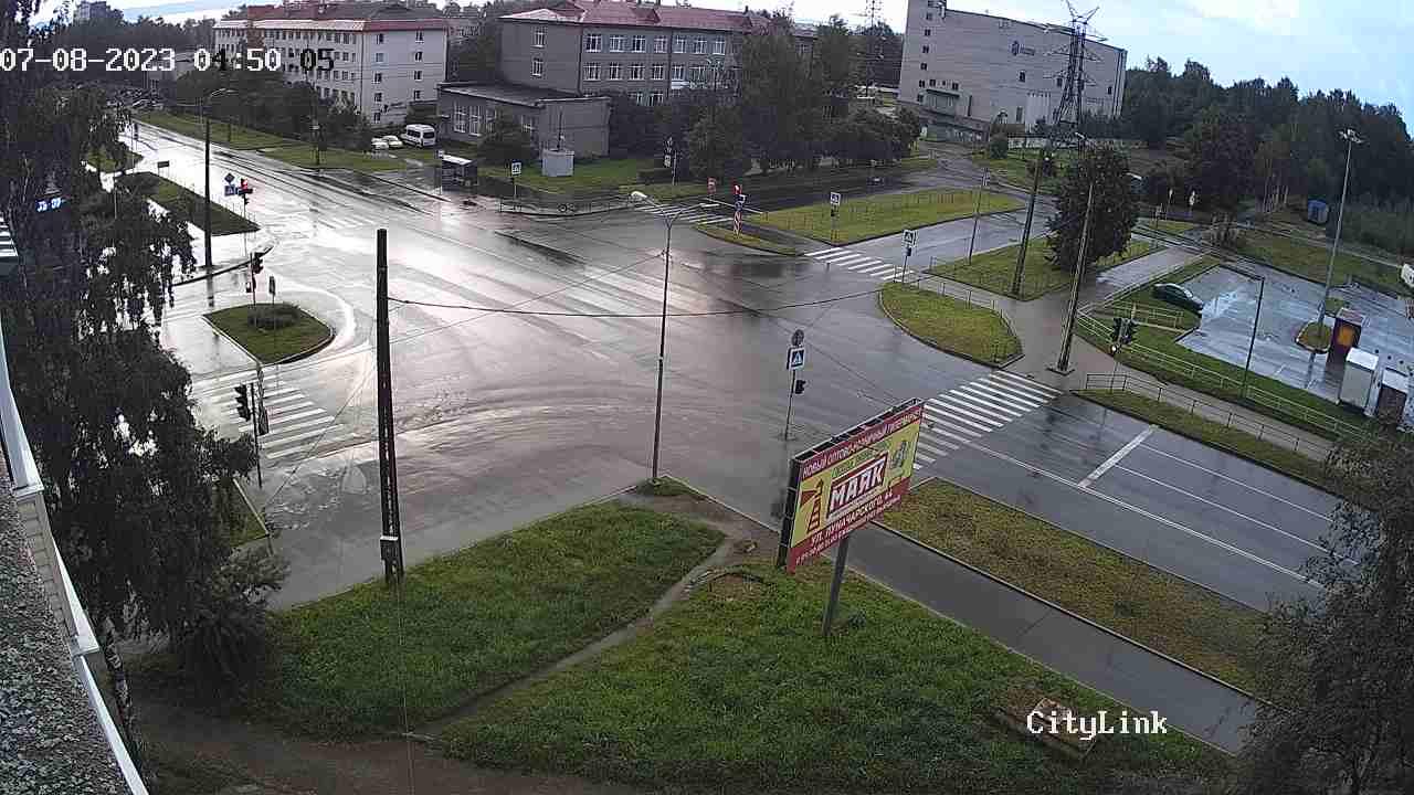 Leningrad St. - Oktyabrsky Ave.